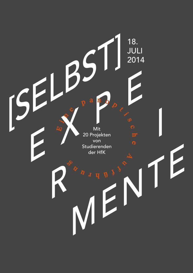 (SELBST)EXPERIMENTE-Ankündigung