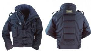 coat with protectors